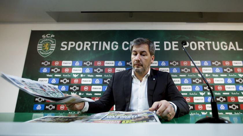Direção de Bruno de Carvalho vai divulgar ata da reunião dos órgãos sociais