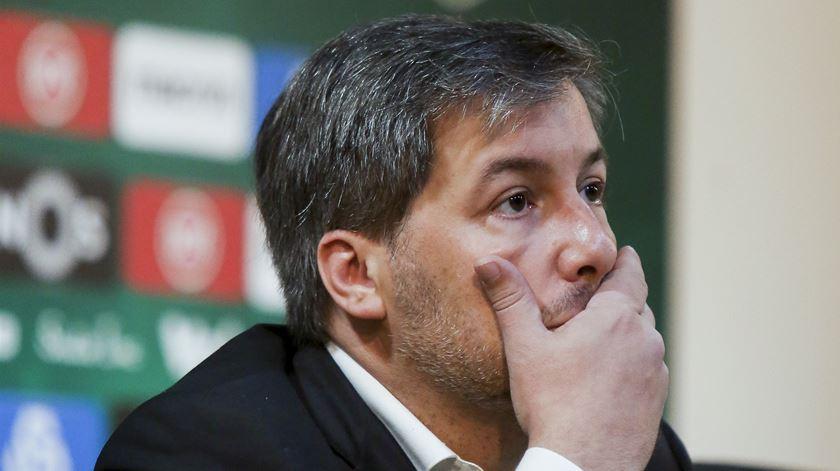 Os apelos à demissão de Bruno sucedem-se. Foto: Tiago Petinga/Lusa