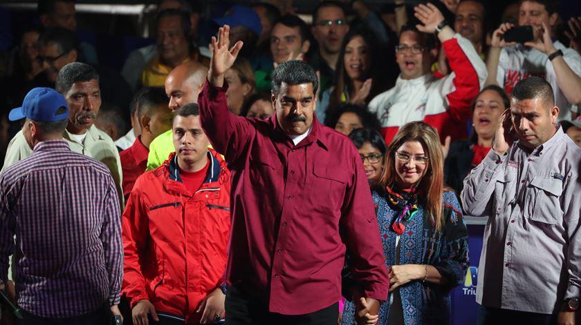 Reeleito. Maduro presidente da Venezuela até 2025