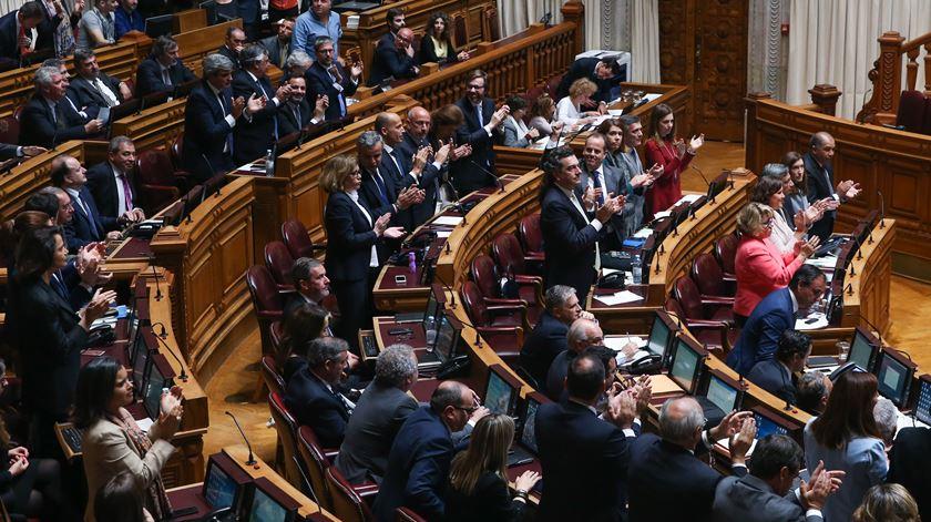 O momento em que o Parlamento chumbou a eutanásia
