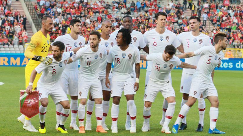 O onze de Portugal para o Mundial