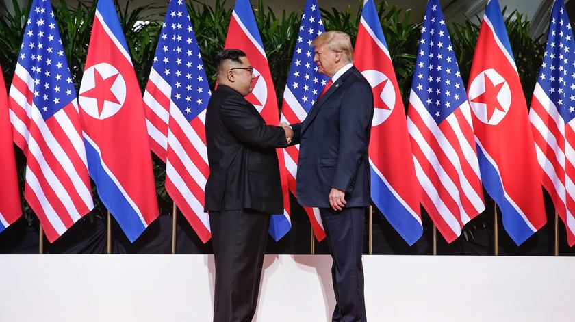 Kim quer nova cimeira com Trump