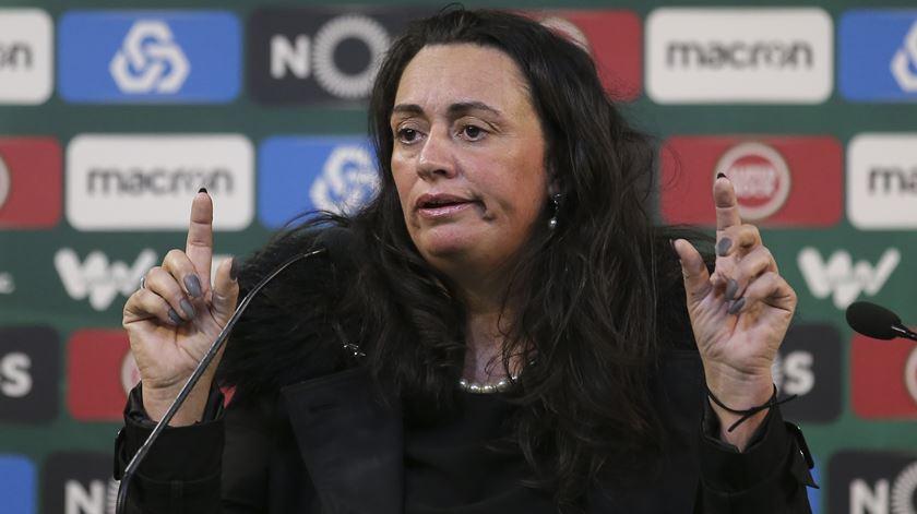 Elsa Tiago Judas, líder da Comissão Transitória da MAG. Foto: José Sena Goulão/Lusa