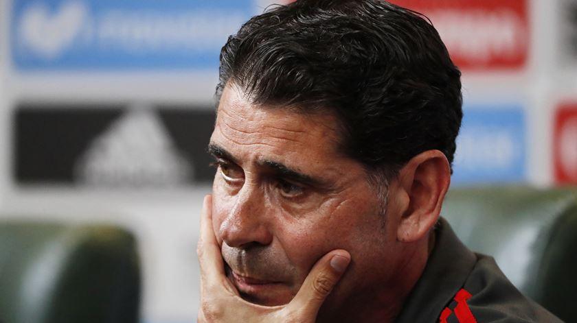 Hierro acredita que os jogadores estarão prontos e motivados para o desafio. Foto: Javier Etxezarreta/EPA