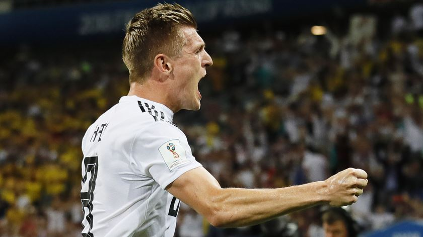 """Kroos lamenta saída de CR7: """"Não vai ser fácil compensar 50 golos por época"""""""