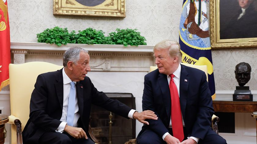 Trump vs Marcelo, para além de CR7