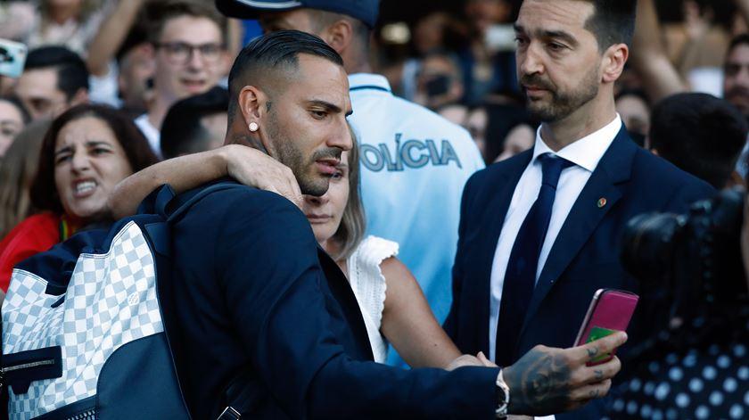 Ricardo Quaresma foi um dos jogadores mais solicitados pelos adeptos. Foto: António Pedro Santos/Lusa