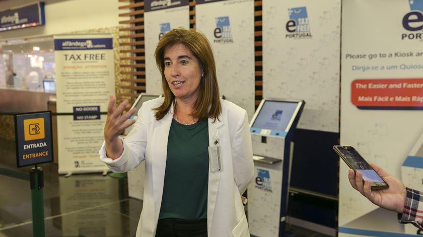 Ana Mendes Godinho, secretária de Estado do Turismo. Foto: José Sena Goulão/Lusa