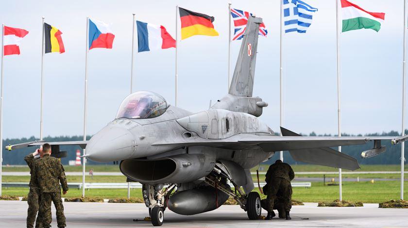 Sede da NATO em Bruxelas. Foto: EPA