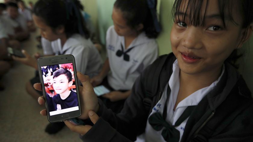 Tailândia. Jovens resgatados perderam cerca de dois quilos