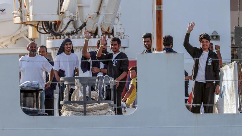 Itália procura solução para 177 migrantes