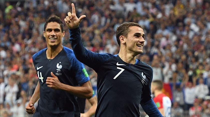 """Griezmann e a conquista do Mundial. """"Vamos fazer a festa com todos os franceses"""""""