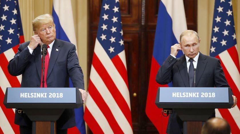 Tudo o que Trump disse (e desdisse) sobre a intromissão russa nas eleições de 2016