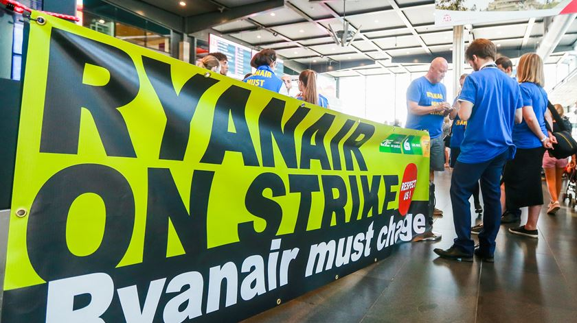 Ryanair chega a acordo com sindicato de pilotos na Irlanda
