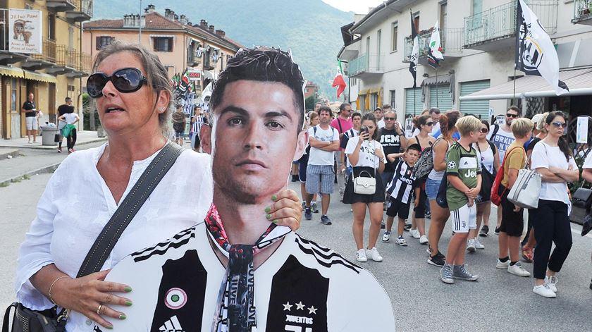 Fotogaleria. Loucura e golos no primeiro jogo de Ronaldo pela Juve