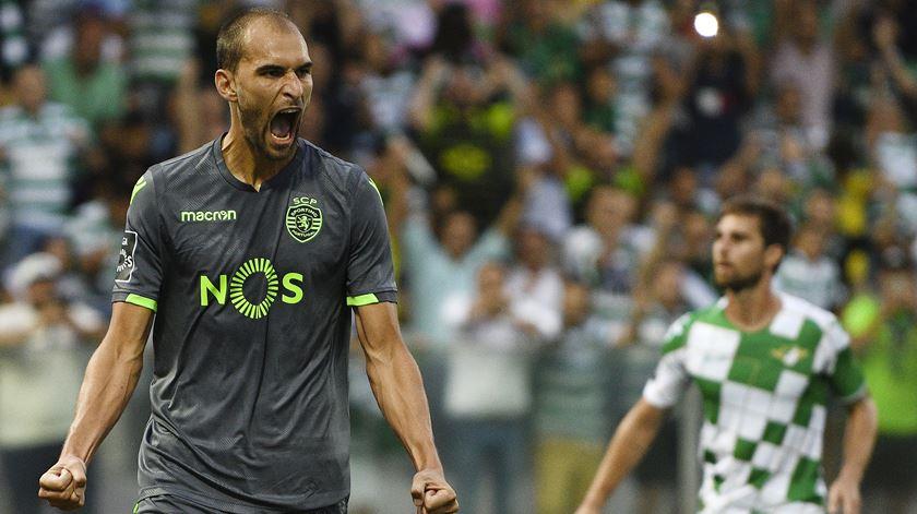 Bas Dost tem dois golos marcados, esta temporada. Foto: Octávio Passos/Lusa