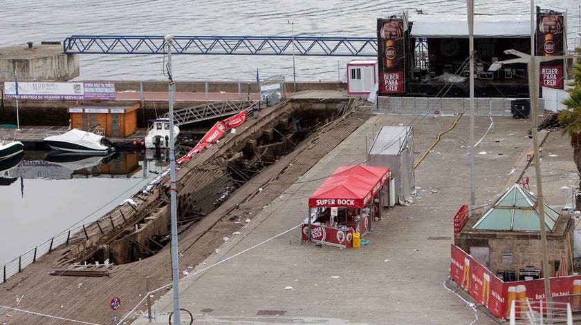Vigo. Colapso de passeio marítimo faz mais de 300 feridos