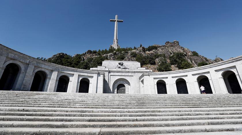 Vale dos Caídos, onde está sepultado Francisco Franco. Foto: EPA