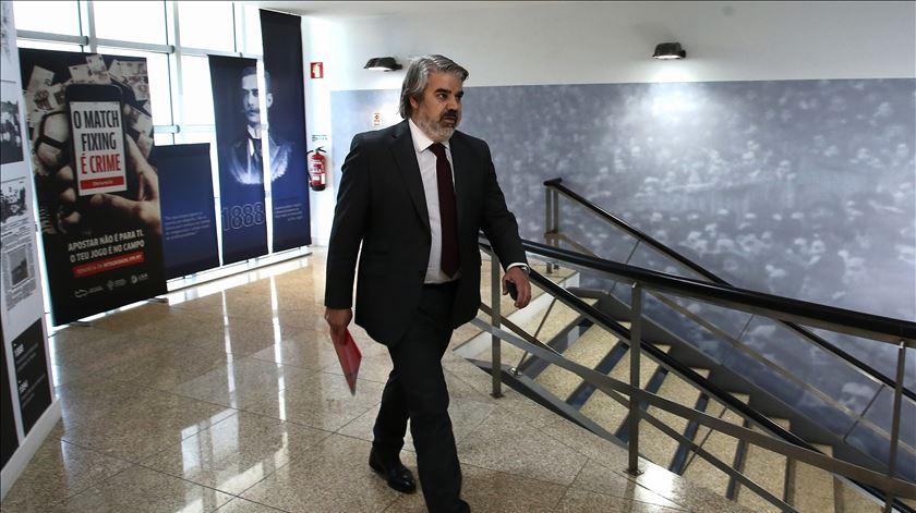 Paulo Gonçalves está há 12 anos no Benfica. Foto: Manuel Fernando Araújo/Lusa