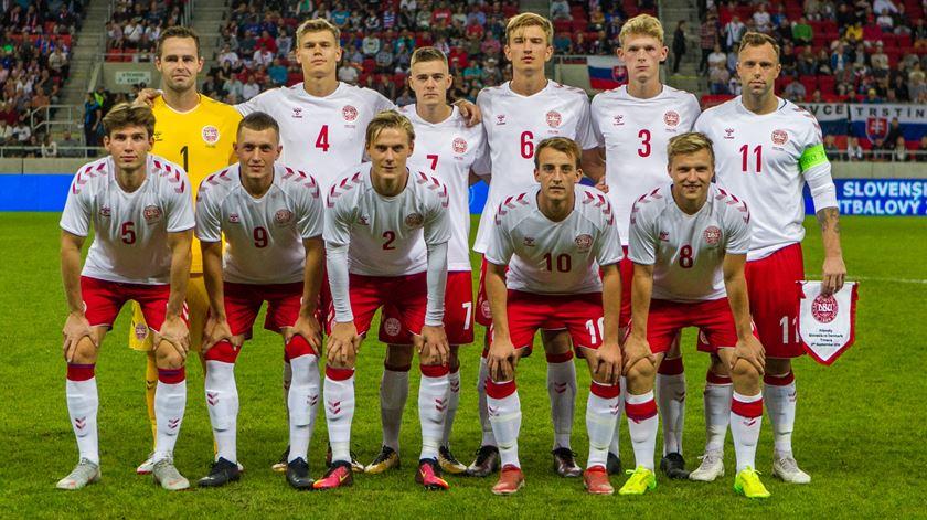 Dinamarca, seleção amadores. Foto: Tibor Somogyi/EPA