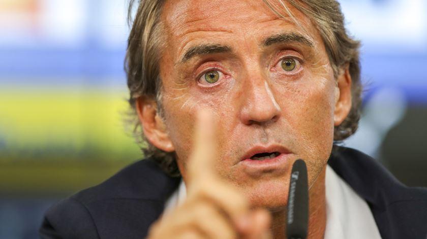 Mancini quer o número um. Foto: José Sena Goulão/EPA