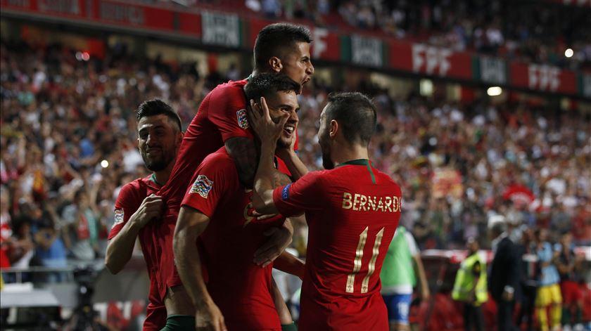 Nova geração mostra serviço. Portugal bate Itália e entra a vencer na Liga das Nações