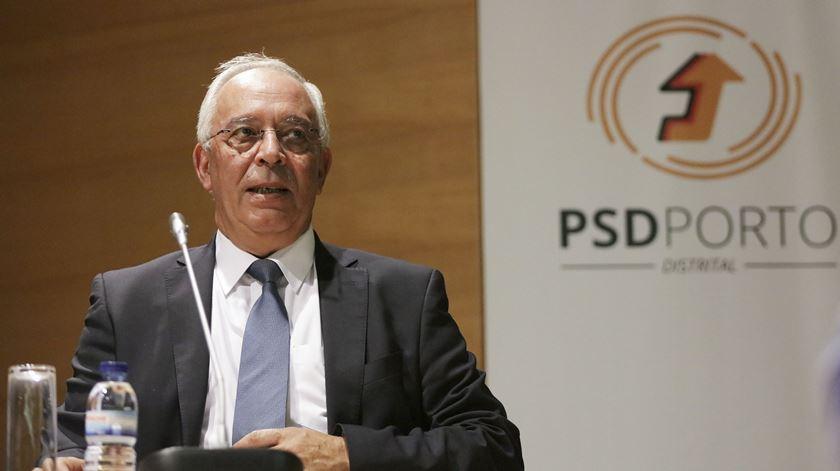 David Justino, vice-presidente do PSD. Foto: Manuel Fernando Araújo/Lusa