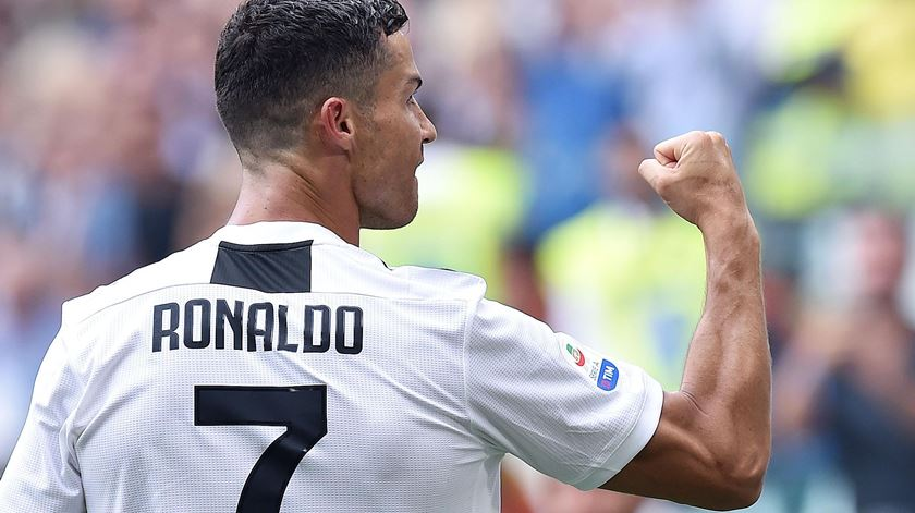 Cristiano Ronaldo, Juventus, golos. Foto: Alessandro Di Marco/EPA