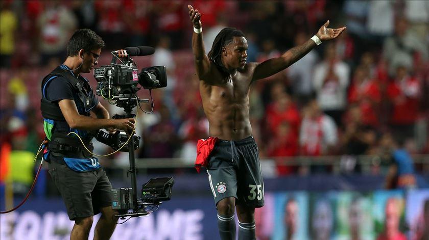 """Renato: """"O Benfica é a minha casa. Foi uma noite especial"""""""
