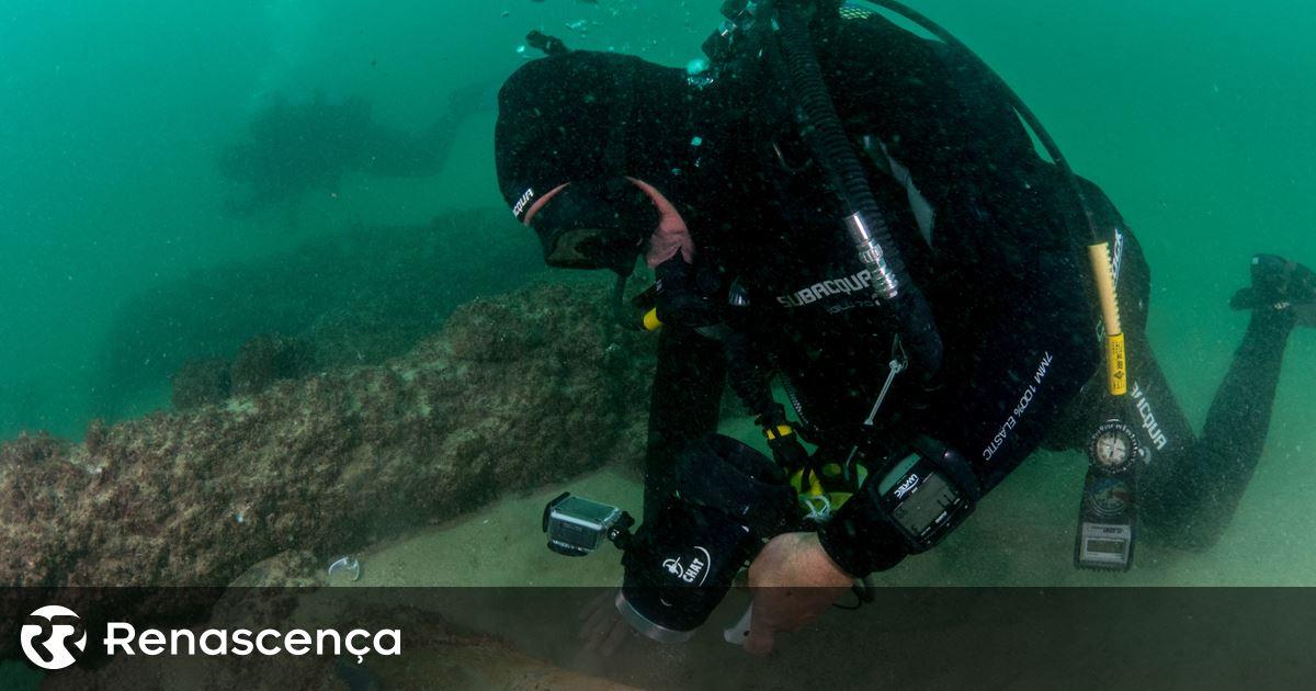 Resultado de imagem para Descoberta Nau da Carreira da Índia naufragada ao largo de Cascais