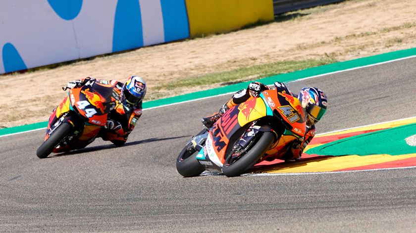 Covid-19. KTM é a primeira equipa de MotoGP a regressar ao trabalho