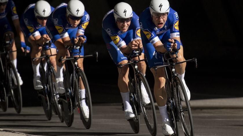 Ciclismo. Quick-Step vence contrarrelógio coletivo nos Mundiais