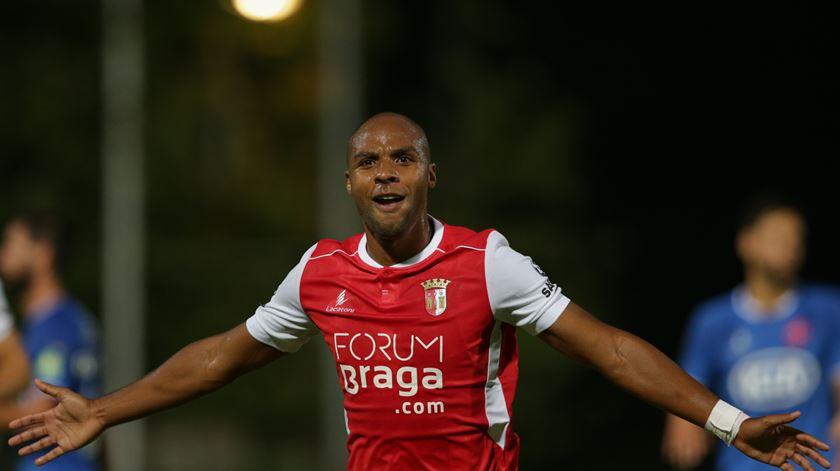 Wilson é o capitão do Braga. Foto: Tiago Petinga/Lusa