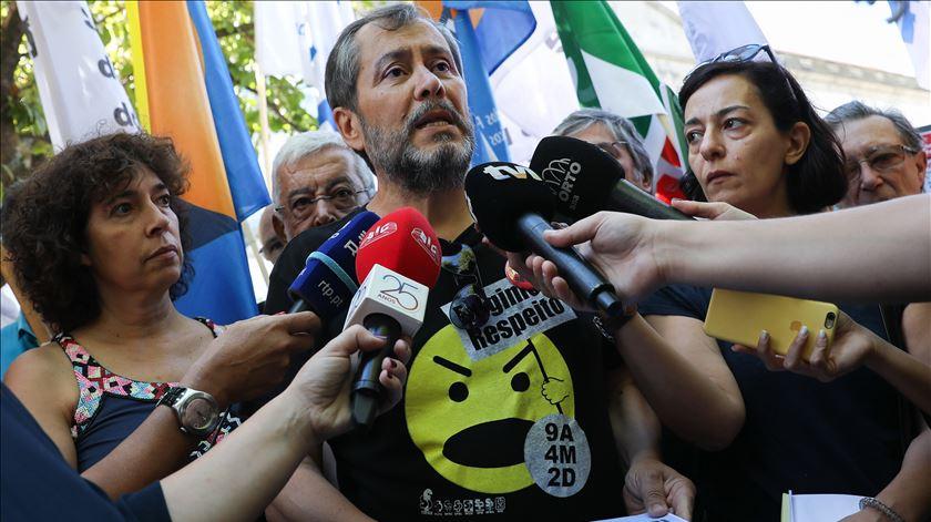 Mário Nogueira da Fenprof. Foto: José Coelho/Lusa