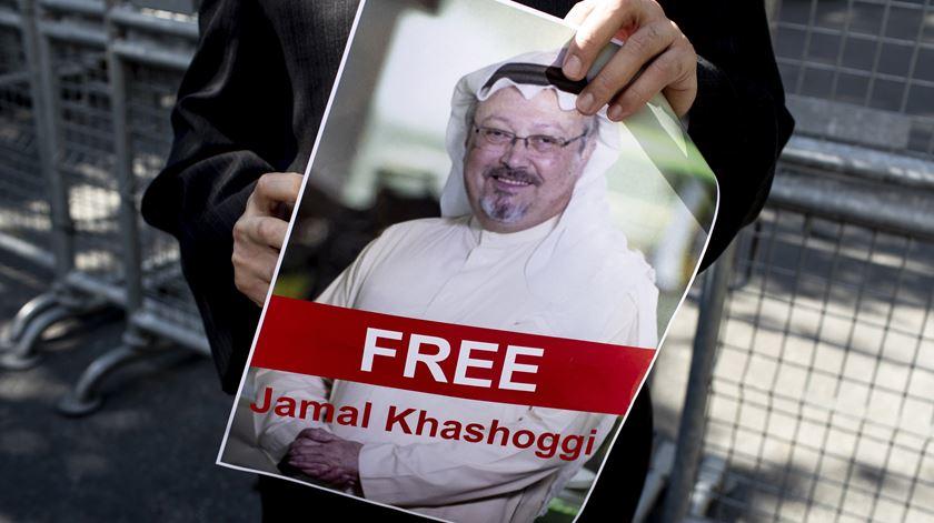 Jamal Khashoggi está desaparecido desde 2 de outubro. Foto: Sedat Suna/EPA