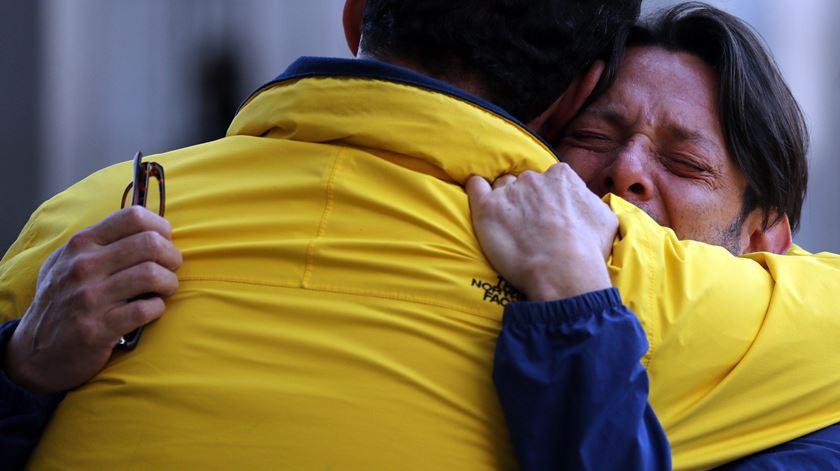 A morte de Fernando Albán gerou uma onda de protestos e indignação na Venezuela. Foto: Miguel Gutiérrez/EPA