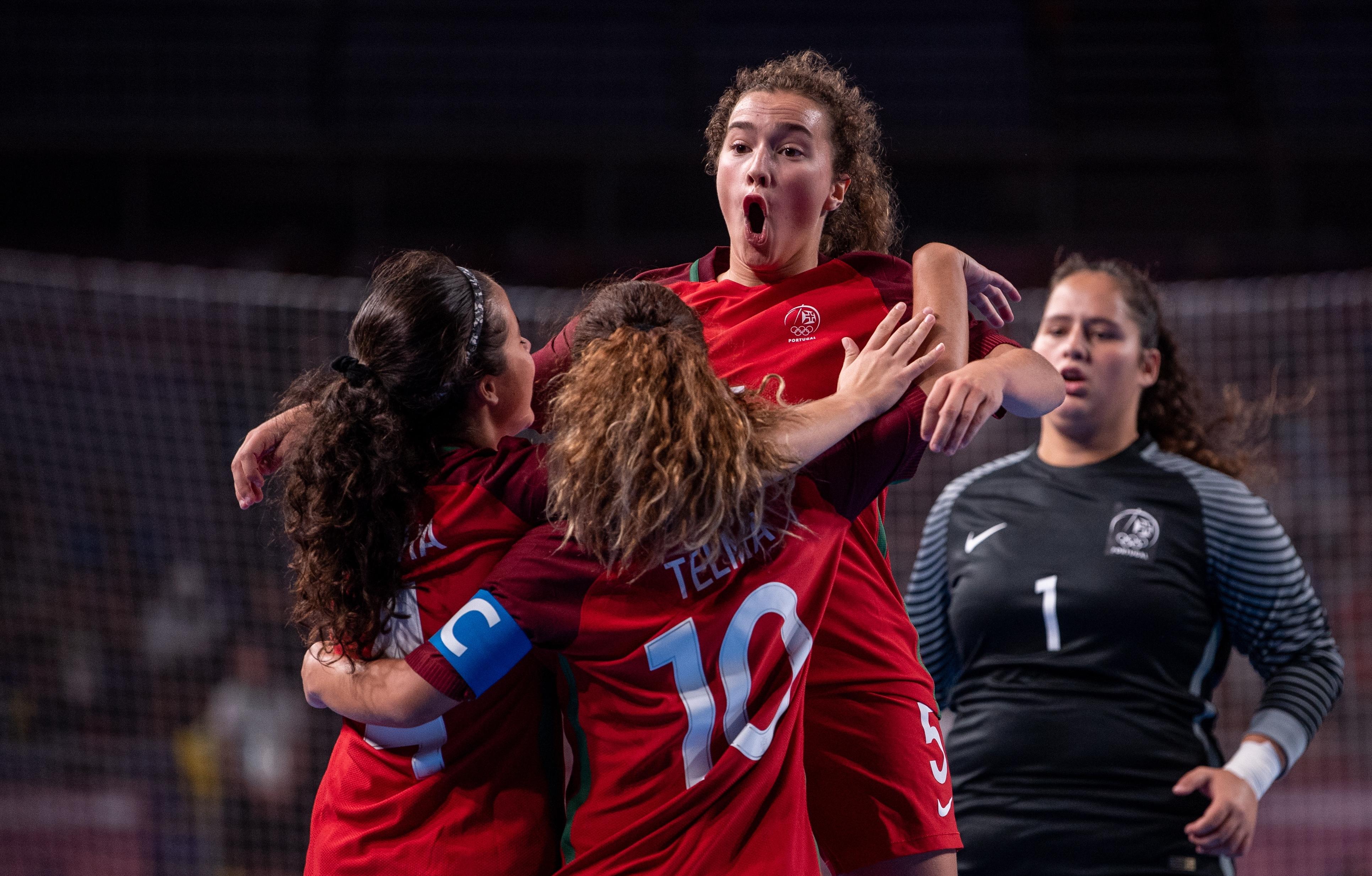 ee6c2eae45 Convocatória portuguesa anunciada para o Europeu de futsal feminino ...