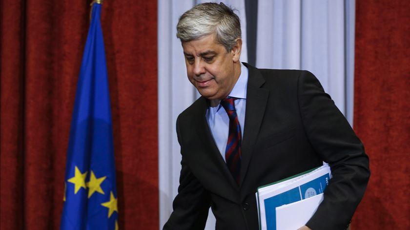 Mário Centeno admite criação de taxa mínima de IRC na União Europeia. Foto: Rodrigo Antunes/Lusa