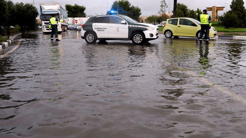 Espanha. Caíram mais de 230 litros de chuva por metro quadrado