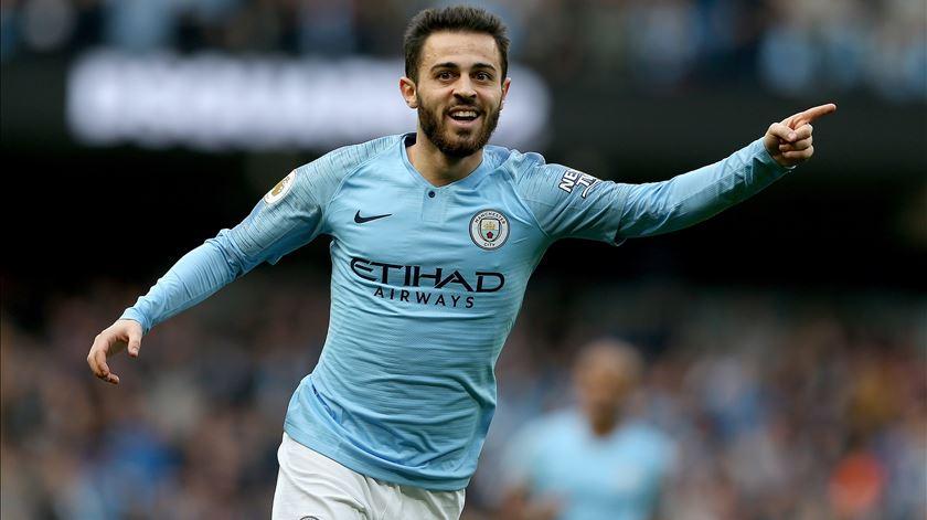 Bernardo Silva eleito jogador do ano do Manchester City
