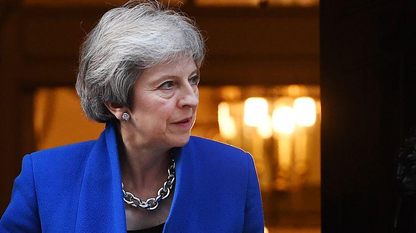 T. May e as negociações do Brexit