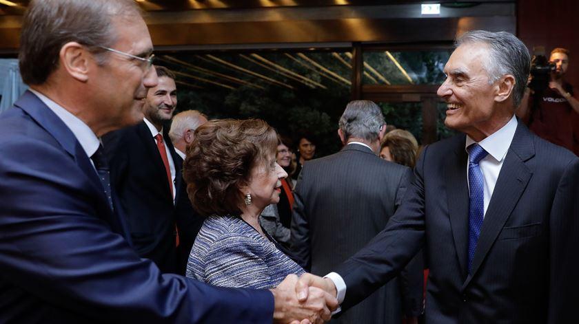 Passos Coelho e Cavaco Silva. Foto: António Cotrim/Lusa