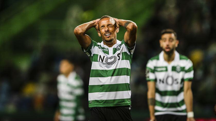 Bruno Gaspar está lesionado. Foto: Mário Cruz/Lusa