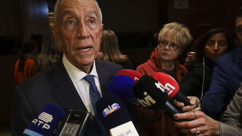 """Marcelo defende que há uma """"fraternidade insubstituível"""" entre Portugal e China"""