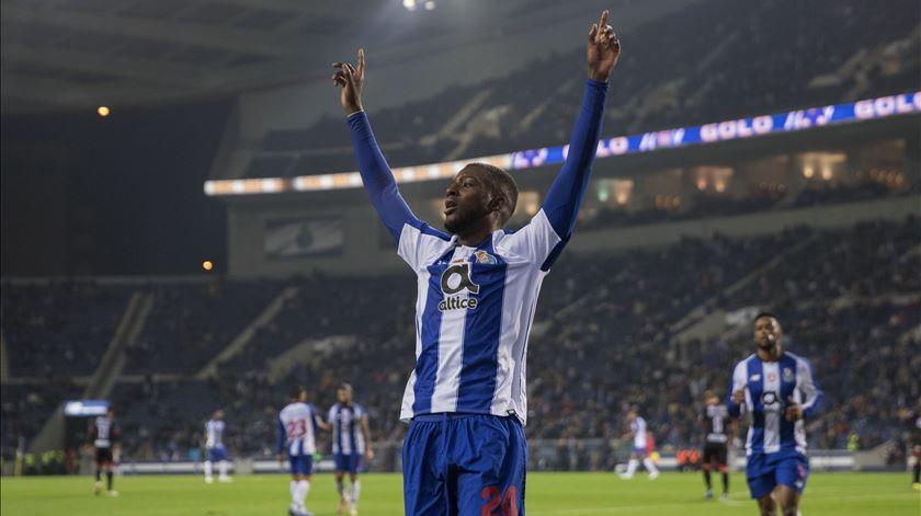 Bazoer marcou um golo em três jogos pelo FC Porto. Foto: José Coelho/Lusa