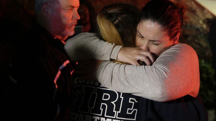 Ataque na Califórnia matou 13 pessoas. Foto: Mike Nelson/ EPA