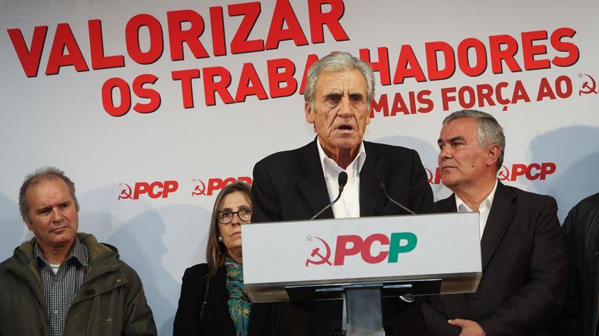 Jerónimo de Sousa, PCP. Foto: António José/Lusa