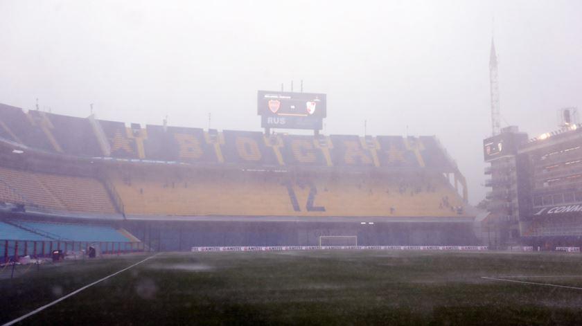 Estádio do Boca Juniors vazio. Foto: Juan Ignacio Roncoroni/EPA