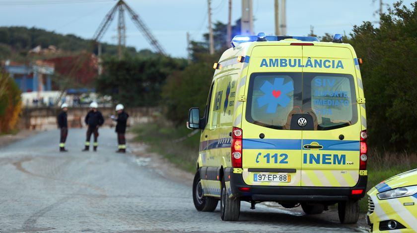 Incidente fez dois mortos confirmados e até quatro desaparecidos. Foto: Nuno Veiga/Lusa