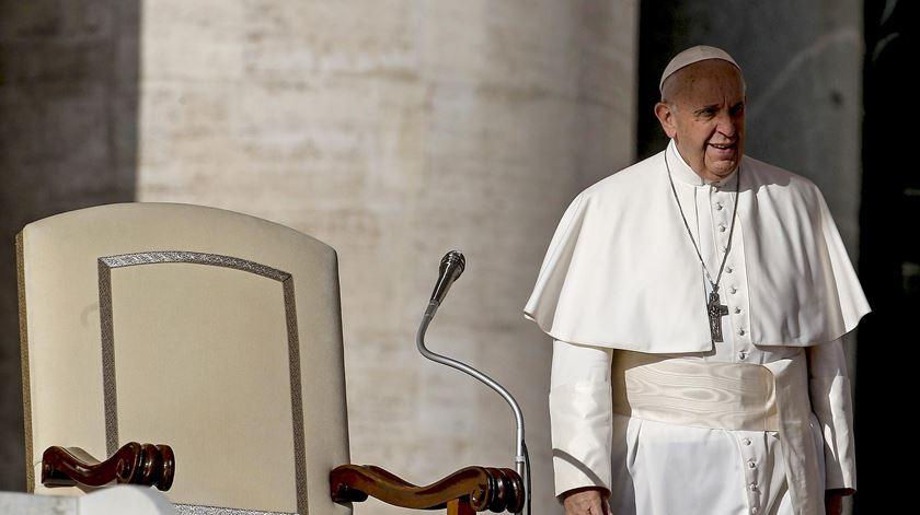 """""""É do interior do coração dos homens que saem os maus pensamentos"""", diz o Papa"""